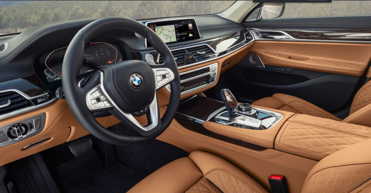 2020 BMW 7-Series Interior