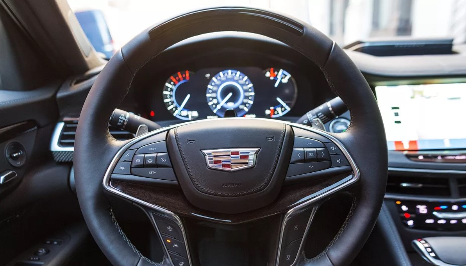 2020 Cadillac CT6-V Interior