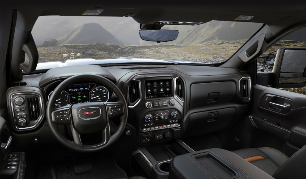 2020 GMC Sierra 2500HD Interior