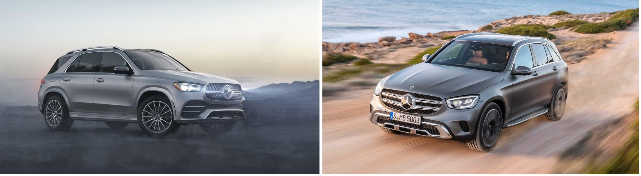 2020 Mercedes GLE vs 2020 Mercedes GLC