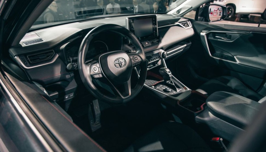2020 Toyota RAV4 TRD Off-Road Interior