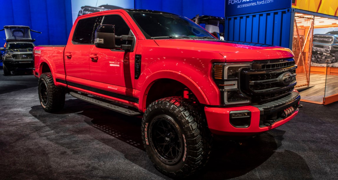 2020 Ford F250 Super Duty Tremor Edition