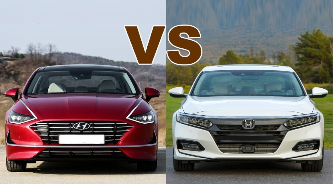 2020 Hyundai Sonata vs 2020 Honda Accord