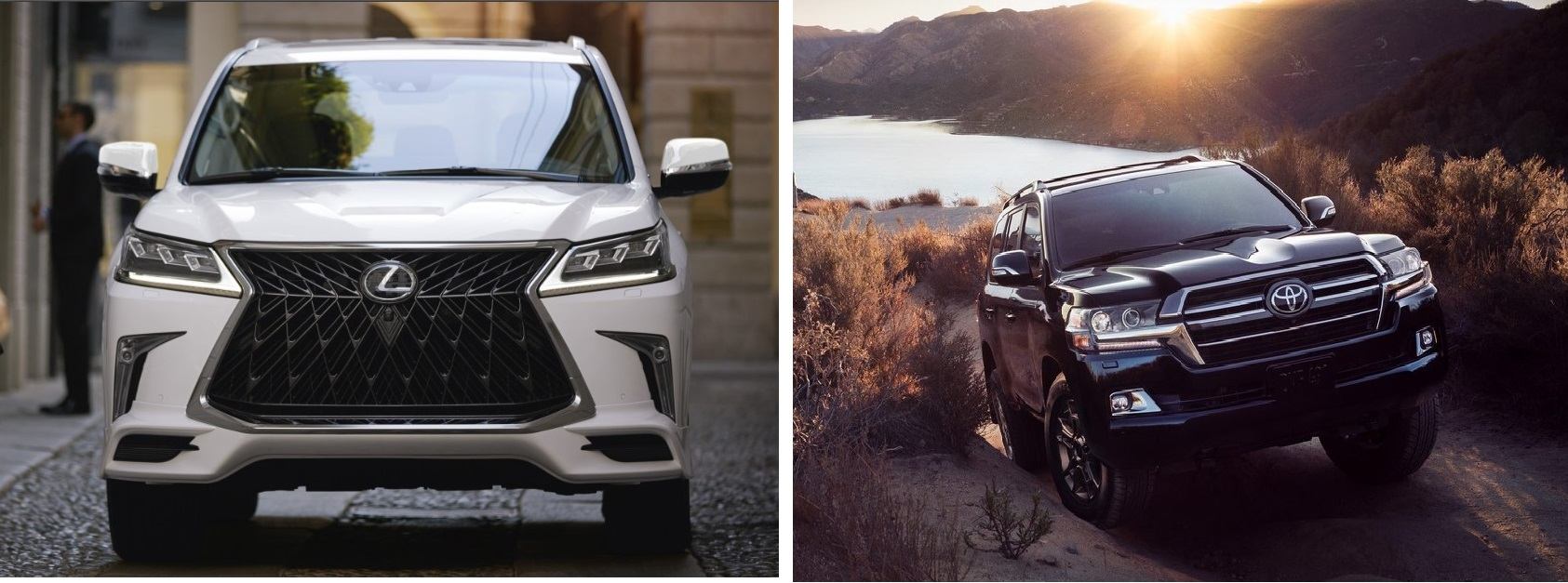 2020 Lexus LX 570 vs. 2020 Toyota Land Cruiser