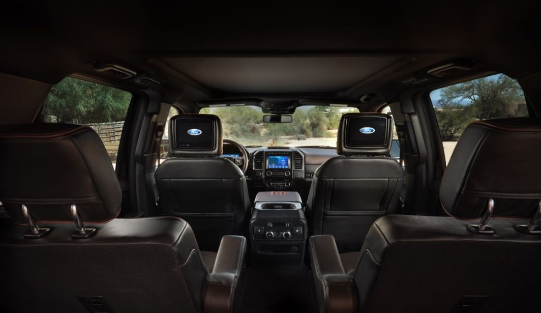 2020 Ford Expedition Max Platinum Interior