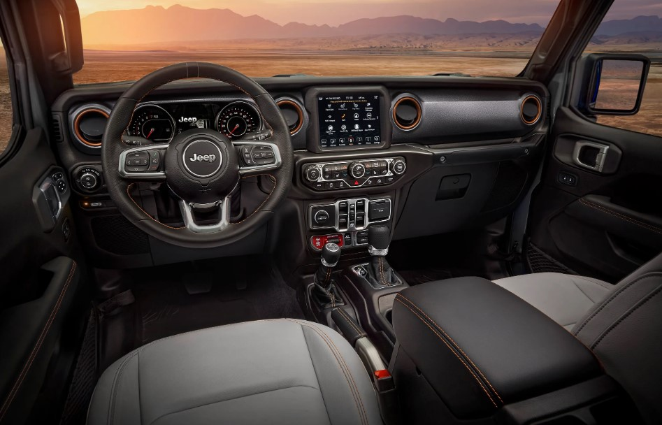 2020 Jeep Gladiator Mojave Interior