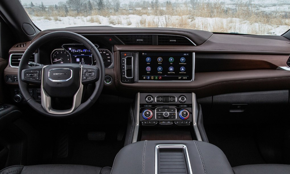 2021 GMC Yukon AT4 Interior