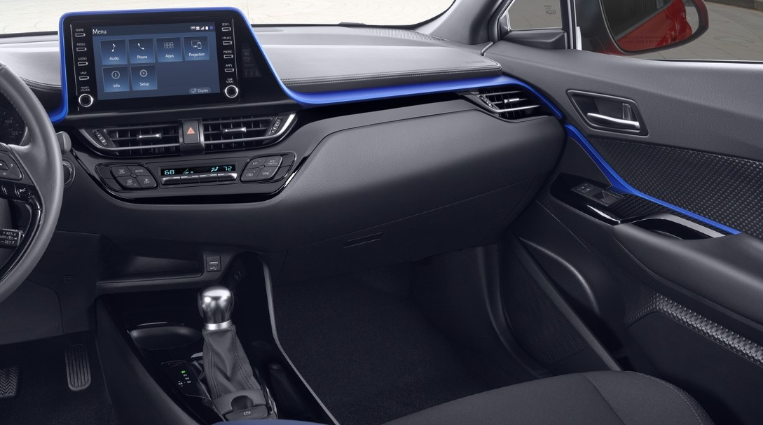 2020 Toyota C-HR Interior