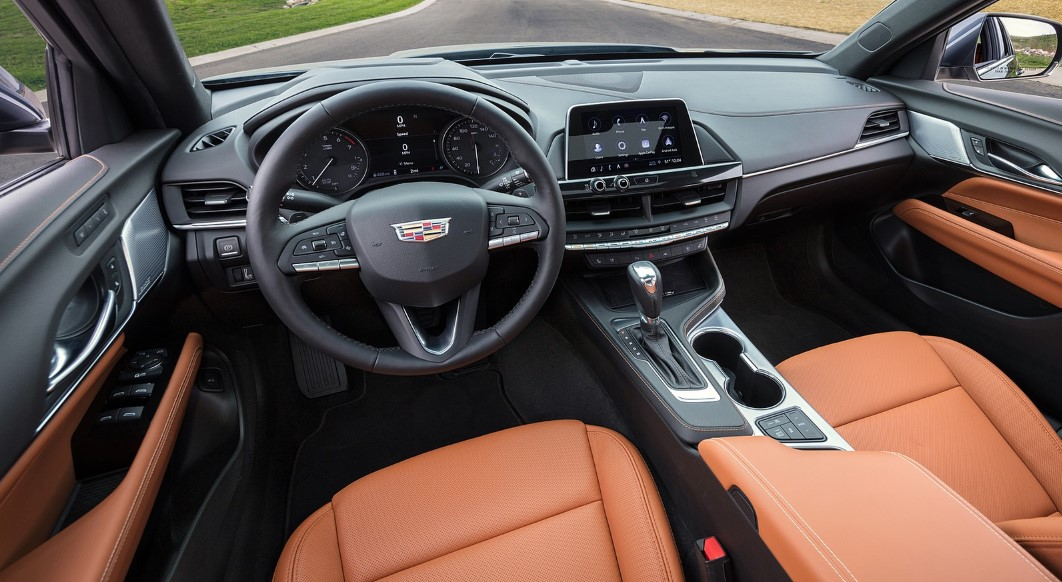 2020 Cadillac CT4 Interior