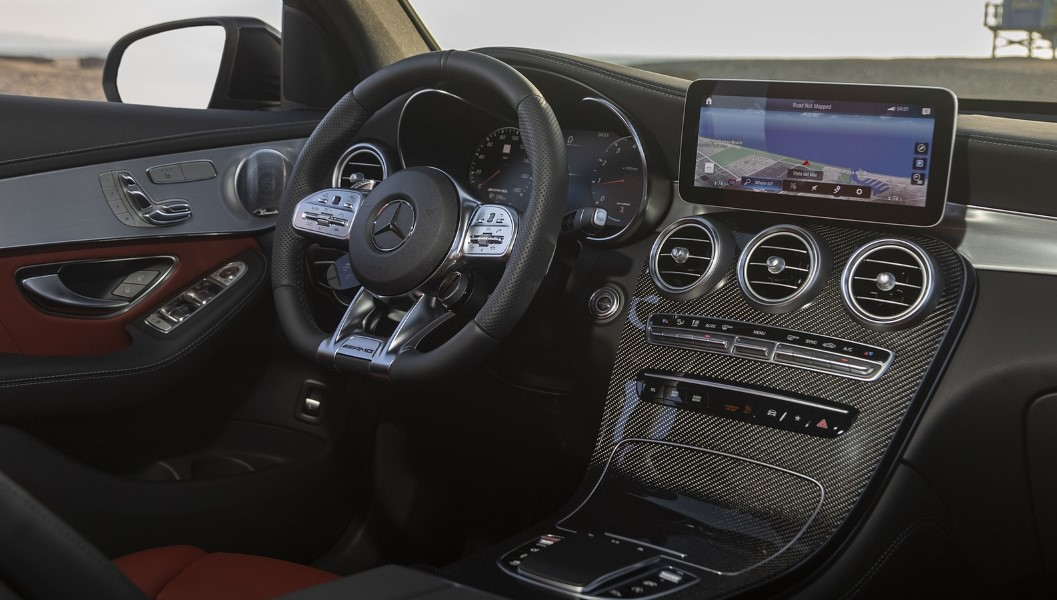 2020 Mercedes AMG GLC 43 Interior