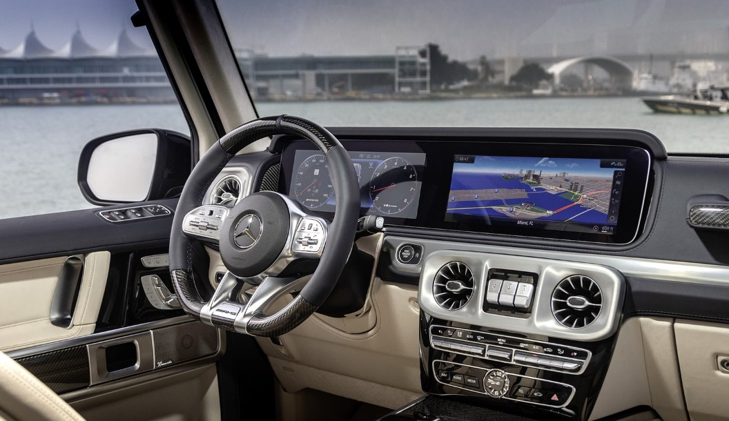 2020 Mercedes G-Wagon G550 Interior