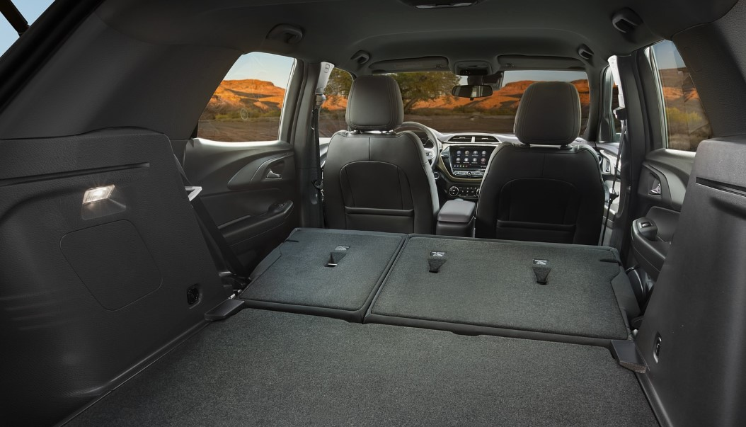 2021 Chevy Trailblazer Cargo Space