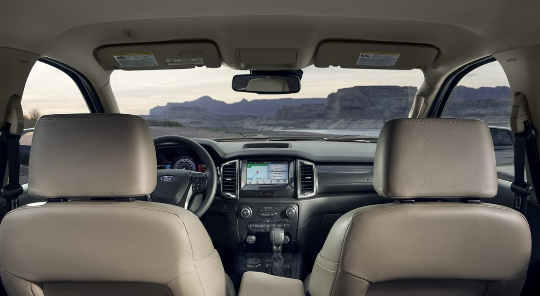 2020 Ford Rangers Interior