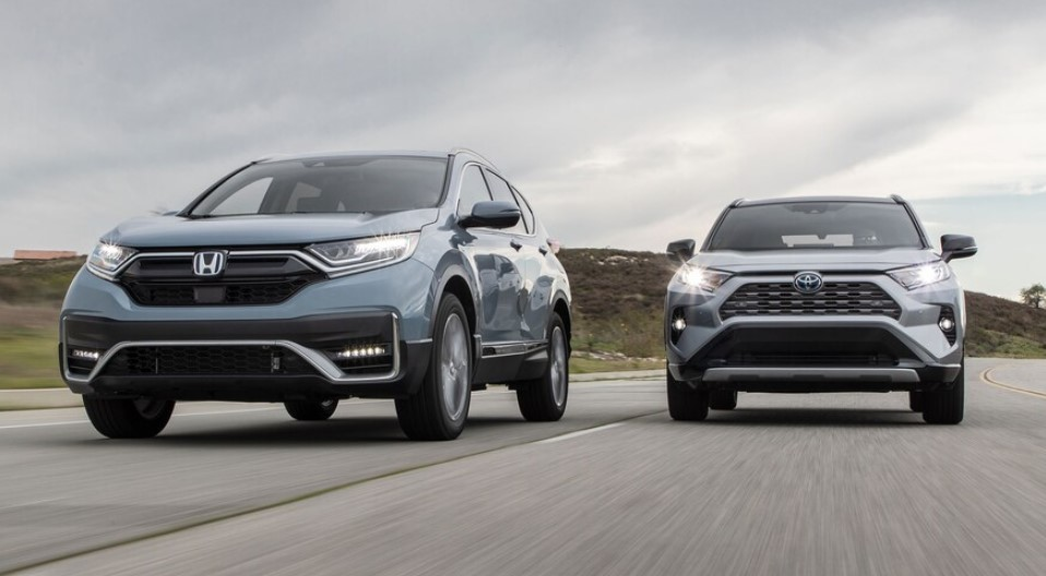 2020 Honda CR-V Hybrid Comparison to 2020 Toyota RAV4 Hybrid