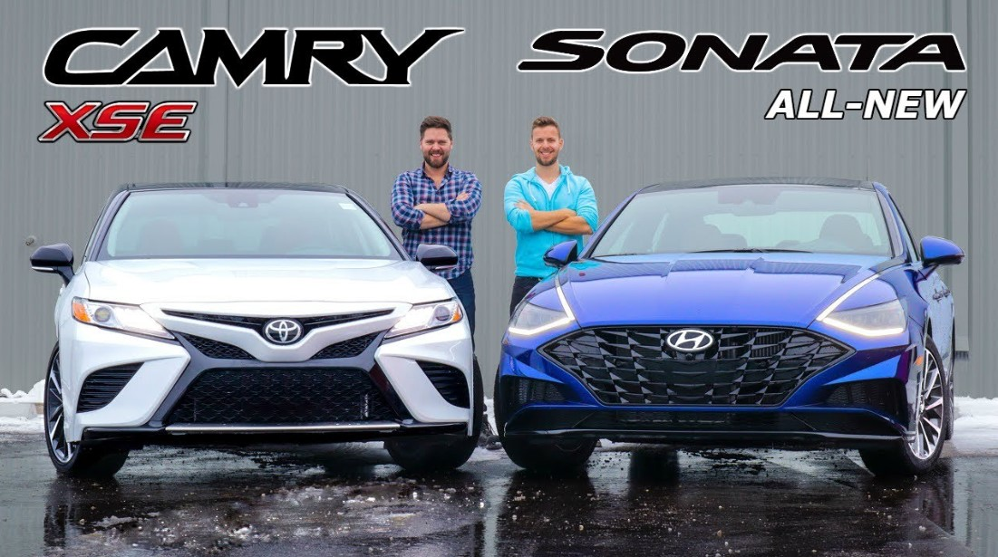 2020 Hyundai Sonata Comparison to 2020 Toyota Camry