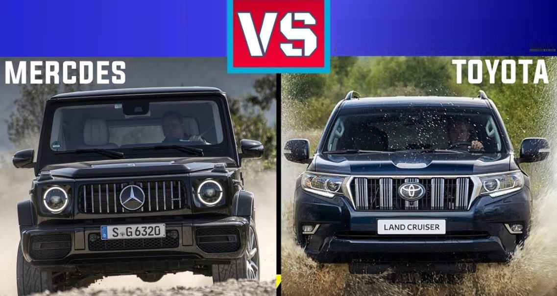 2020 Toyota Land Cruiser Comparison to 2020 Mercedes G-Wagon