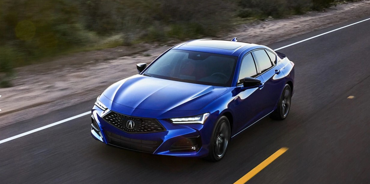 2021 Acura TLX Type S Change