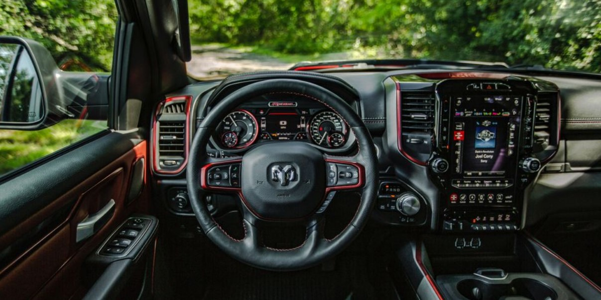 2020 RAM 1500 Limited Ecodiesel Interior