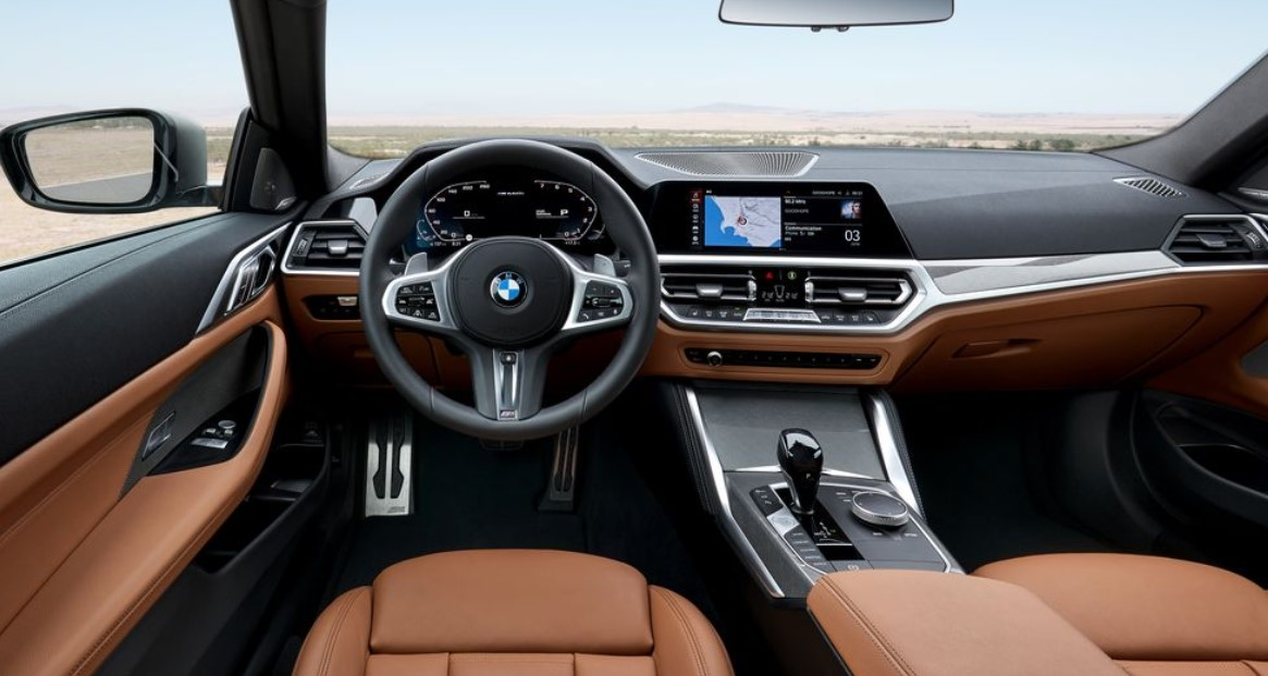 2021 BMW 4-Series Coupe Interior