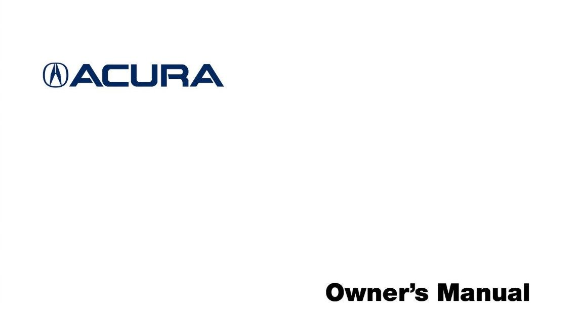 Acura Owners Manual