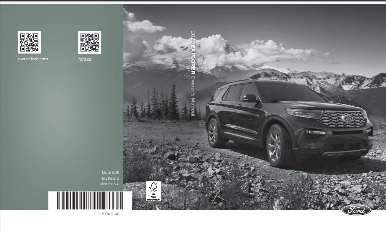 2010 - 2020 Ford Owners Manual