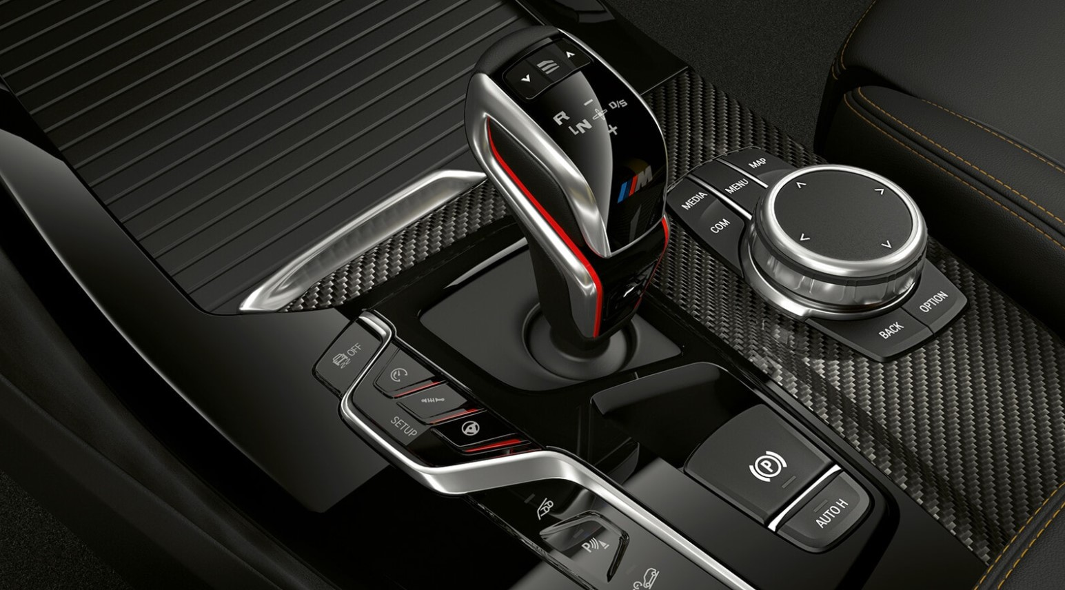 2021 BMW X3 M Electronic Shifter