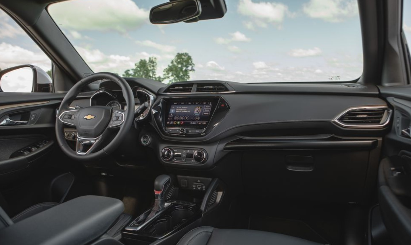 2021 Chevrolet Trailblazer RS Interior