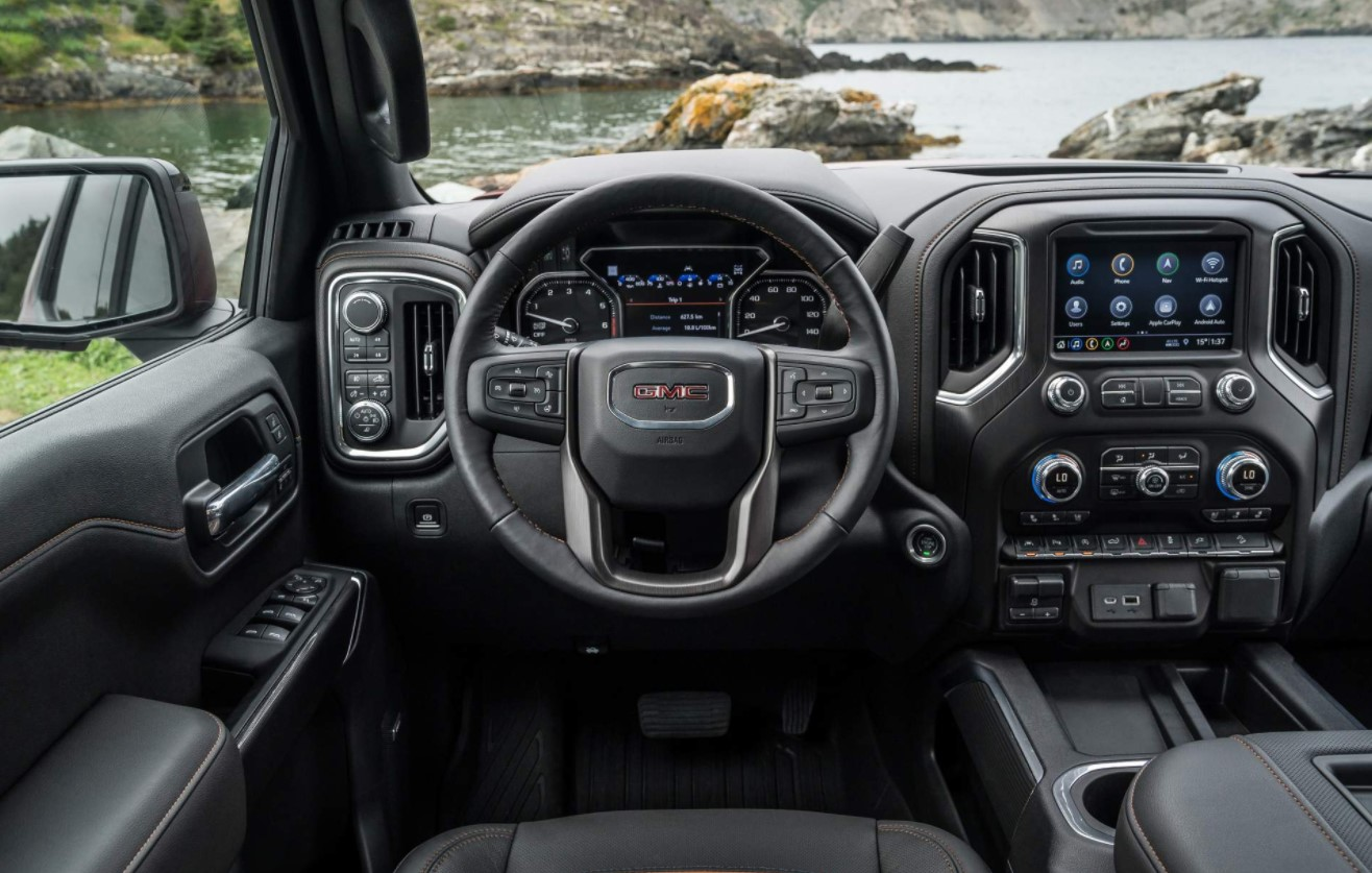 2021 GMC Canyon AT4 Interior