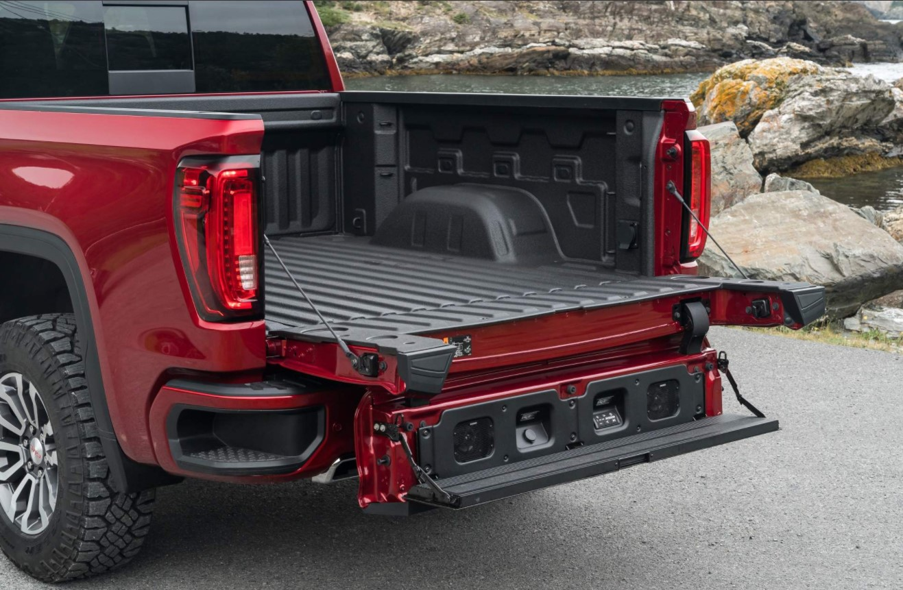 2021 GMC Canyon AT4 Towing Capacity