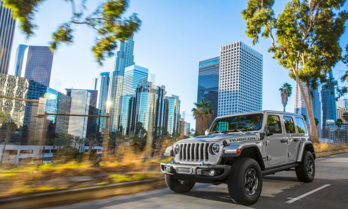 2021 Jeep Wrangler Changes