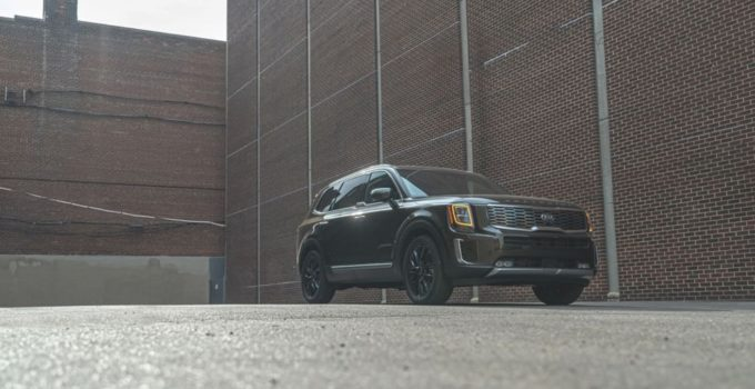 2021 Kia Telluride SX Nightfall Color