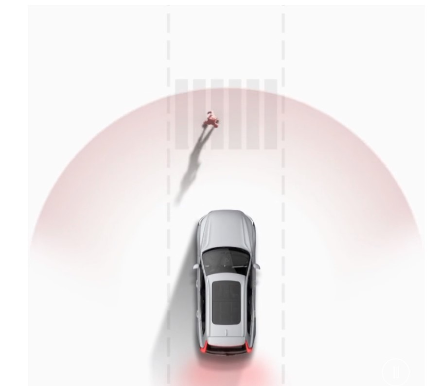 2021 Volvo XC40 Recharge Safety Feature